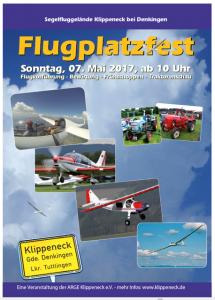 Plakat Flugplatzfest 2017