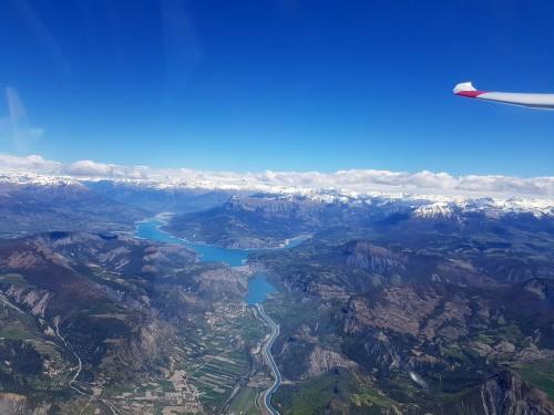 Frühjahr 2019 in Gap / Französische Alpen
