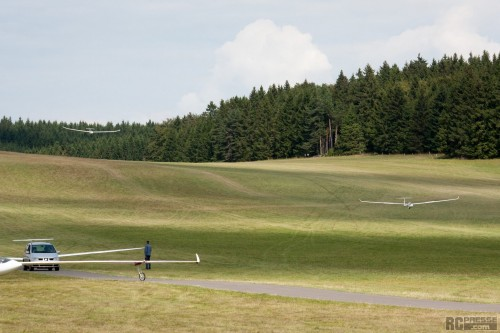Impressionen vom 48. Klippeneck Segelflug-Wettbewerb